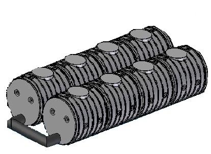 8.3. <> UNITANK - 20 m3-es szennyvízgyűjtő tartályrendszer