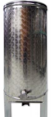 1.1 ~ 15 kg méztartály rozsdamentes acél mézcsappal, tetővel