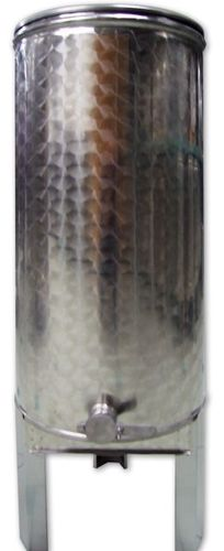 6.3 ~ 530 kg méztartály rozsdamentes acél mézcsappal, tetővel