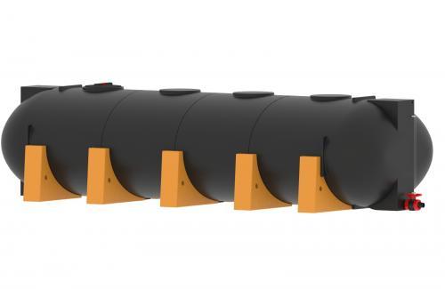 9.5 <> 10000 literes PE. - LENCSE - műanyag szállítótartály műanyag lábakkal;