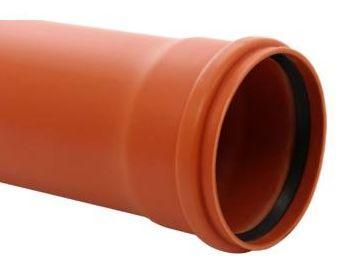 7. <> DN 110 KG-PVC cső toldó, 50 cm;