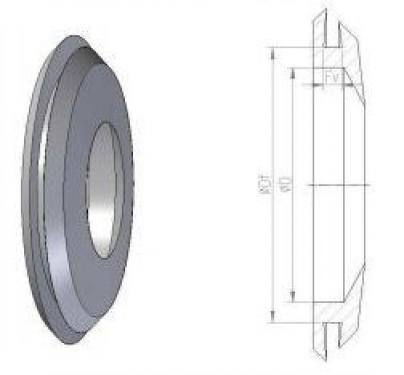 9.5 <> DN 160 -as gumi csatlakozó tartályokhoz