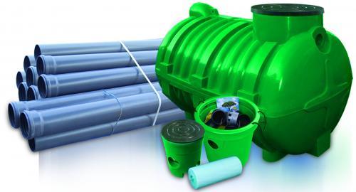 3.0 <> UNITANK-3 szennyvíz tisztító rendszer - 3 m3