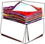 Ipari Törlőkendő pamut 300lap/dob. szegetlen géprongy