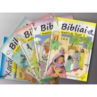 Bibliai matricás füzet