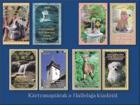 Hallelujás kártya naptár   2019