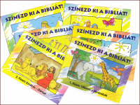 Harmat kiadós kifestők - Szinezd ki a Bibliát  sorozat