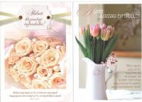 Képeslap / Good-News házassági évfordulós borítékos