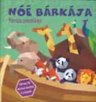 Noé bárkája - Matricás szinezőkönyv  ÚJDONSÁG