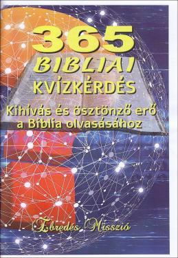 365 bibliai kvízkérdés