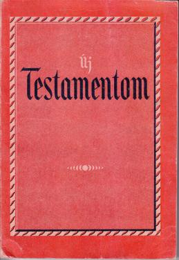 Antikvár 2019 szept - Új Testamentum