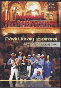 Sabbathsong: Dávid király zsoltárai klezmerbe öltöztetve DVD&CD