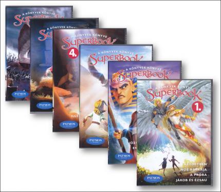 Superbook sorozat   1-6  DVD