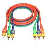3RCA-3RCA komponens kábel 1,5 m
