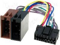 Autó-rádió csatl. JVC-ISO adapter ISO-62