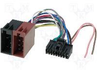 Autó-rádió csatl. SONY-ISO adapter ISO-46