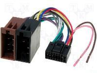 Autó-rádió csatl. JVC-ISO adapter ISO-76