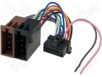 Autó-rádió csatl. SONY-ISO adapter ISO-88