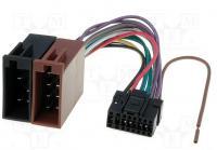 Autó-rádió csatl. SONY-ISO adapter ISO-52