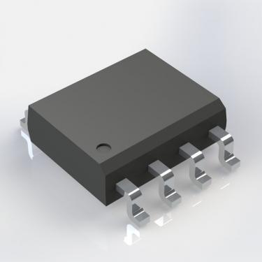 555 integrált áramkör SO8