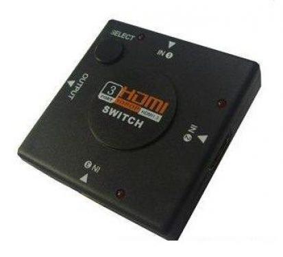 3 to 1 HDMI Switch ( Kapcsoló ) 1080p
