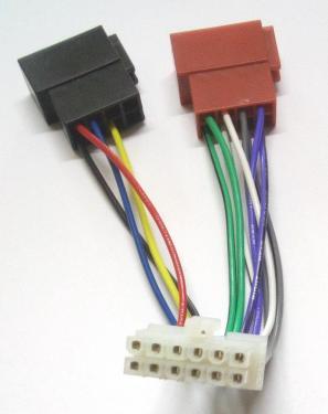 Autó-rádió csatl.  adapter ISO-520