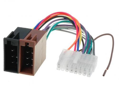 Autó-rádió csatl.  adapter ISO-33
