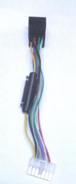 Autó-rádió csatl. AKAI-ISO adapter ISO-180