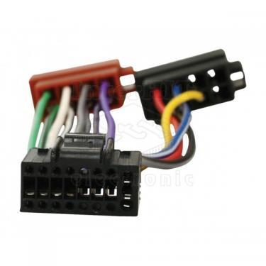 Autó-rádió csatl. LG-ISO adapter ISO-162