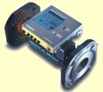 Siemens UH50-A74-00 (T550-40) Qn 40 m3/h ultrahangos kompakt hőmennyiségmérő 6 éves akkuval és merülőhüvellyel