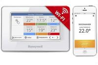 Honeywell Evocolor (ATC928G3026) érintőképernyős WIFI-s rádiófrekvenciás zónavezérlő