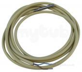 Siemens QAP22 Kábel hőmérséklet érzékelő PVC 2 m, LG-Ni1000