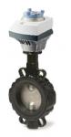 Siemens VKF46.100+SAL31.00T40 motoros pillangószelep DN100 230V 3-pont