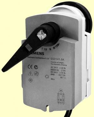 Siemens GSD141.9A motor