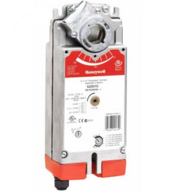 Honeywell S20230-2POS-SW2 SmartAct zsalumozgató 5év garanciával rugóvisszatérítéssel és segédkapcsolóval 20Nm, 230V
