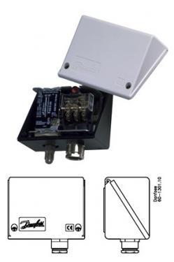 IP55 burkolat/védősapka KP-KPI nyomáskapcsolókhoz