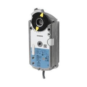 Siemens GEB341.1E 3-pont szabályozású forgató zsalumozgató, 230 V, 20 Nm, 150 s