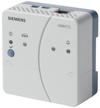 Siemens OZW772.01 Web szerver 1 KNX eszközhöz