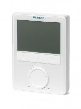Siemens RDG100T univerzális Fan-coil termosztát heti időprogrammal