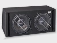 Gladen Audio RS 12 VB DUAL kettős autóhifi subwoofer reflex ládában