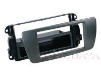Seat Ibiza autórádió beépítő keret 1 DIN fiókkal 281328-06-1