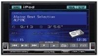Alpine IVA-W205R 2 DIN-es mobil média állomás