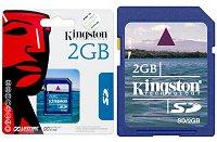 Kingston 2GB Secure Digital (SD) memória kártya (élettartam)