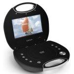 """Lenco Walky-Box WB-1 hordozható DVD/DivX lejátszó 7"""" - FEKETE"""
