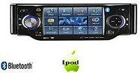 """4002 4"""" rádió-DVD lejátszó full motoros TFT LCD levehető érintőképern"""