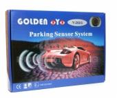 Golden Eye 2605 hangszórós tolatóradar Hangjelzéssel figyelmeztető tol