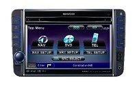 Kenwood DNX-520 VBT 2 DIN méretű DVD-CD GPS multimédia egység