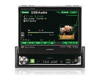 Alpine IVA-D511R - 1DIN-es Mobil Média állomás