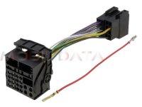 Mercedes OEM Audio 20 rádió - ISO csatlakozó kábel 554166