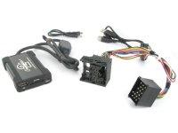 BMW 3 / 5, Mini MP3/USB/SD/AUX illesztő 17 pólusú csatlakozóval szerel